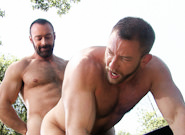 Gay Videos XXX : FUR MOUNTAIN - Shay Michaels -amp; Brad Kalvo!