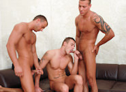 Gay Orgy GroupSex : The Cellar - Jason Visconti -amp; Jimmy Visconti -amp; Joey Visconti -amp; Renato Belaggio -amp; Steve Palmer!
