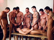 Gay Orgy GroupSex : The Cellar - rod Stevens -amp; Jason Visconti -amp; Jimmy Visconti -amp; Joey Visconti -amp; Renato Belaggio -amp; Paolo Mickey -amp; Dark Devil -amp; James Jones -amp; Steve Palmer -amp; GG -amp; Jack Dragon!