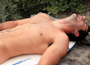 Gay Solo Masturbation : Brock Cooper Beach Solo - Brock Cooper!