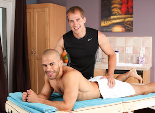 On The Set - Austin Wilde & Brandon Lewis