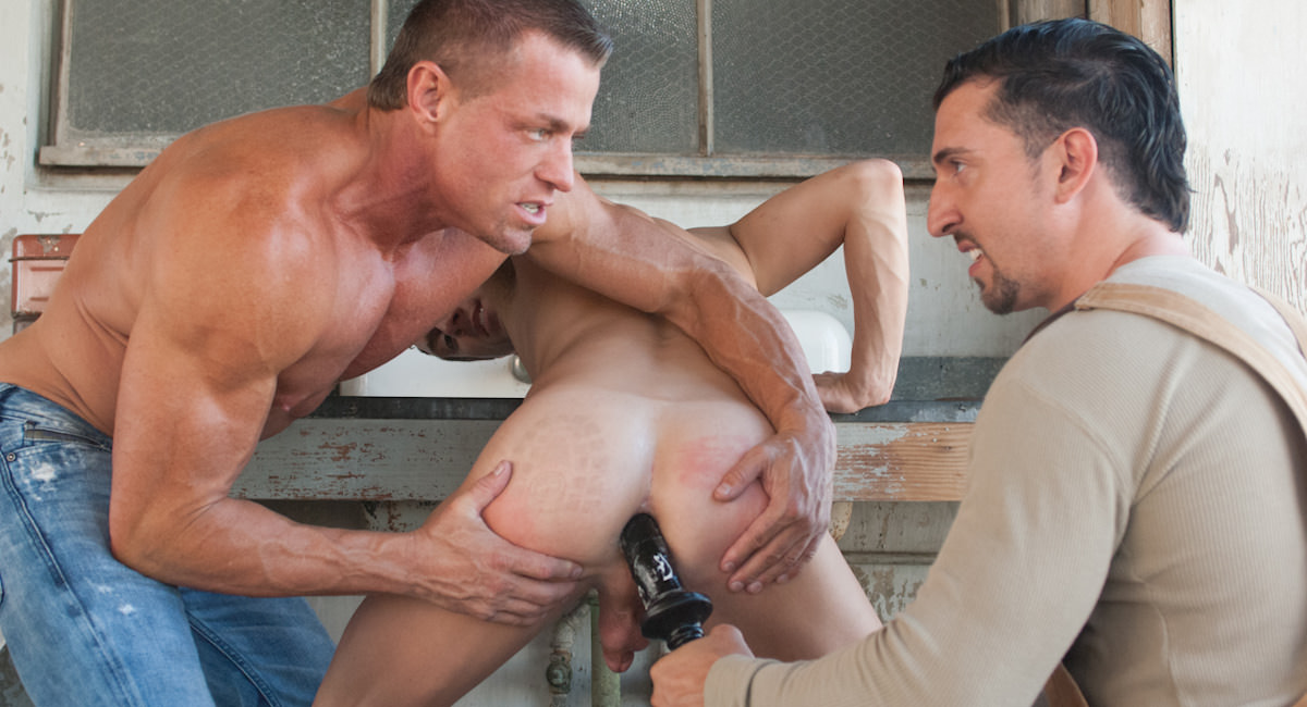 Gay Fisting Fuck : Wrecking Crew - Tyler Saint -amp; Jimmy Durano -amp; Tyson James