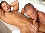 Hot Tub Suck and Rub 