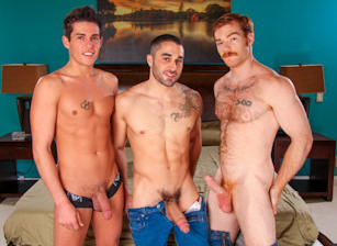 On The Set - Samuel O'Toole, James Jamesson & Jett Jax