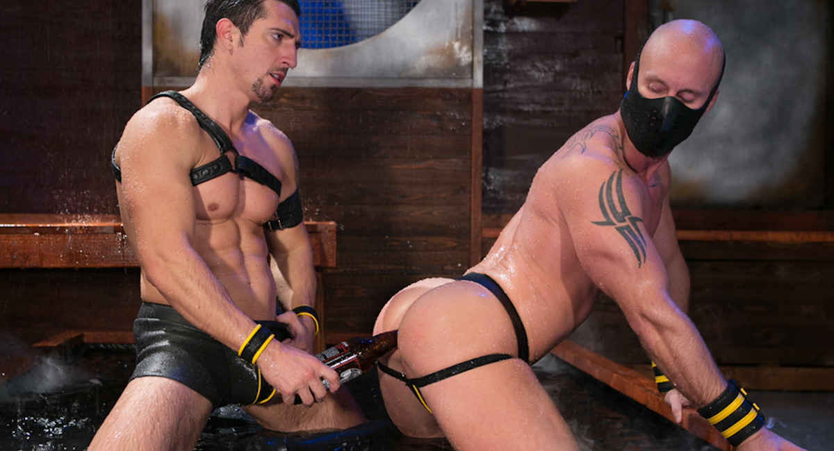 Gay Orgy GroupSex : The Dom - Jimmy Durano -amp; Mitch Vaughn!
