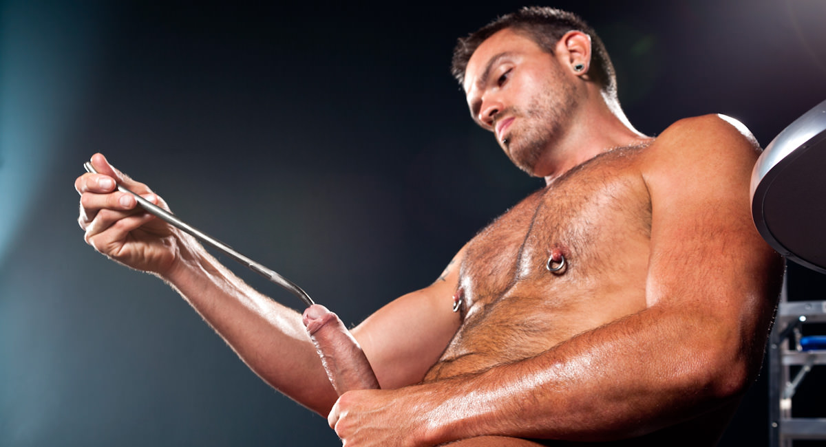 Gay Fetish Sex : Sounding 8 - Lance Navarro!