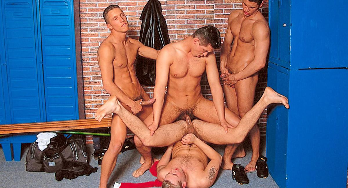 Gay Muscle Men : Jose Ganatti , Franco Corsini , Alexandru Cuza And Remus Orza - Franco Corsini -amp; Alexandru Cuza -amp; Remus Orza -amp; Jose Ganatti!