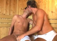 Bareback At The Sauna