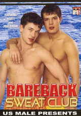 Bareback Sweat Club Dvd Cover