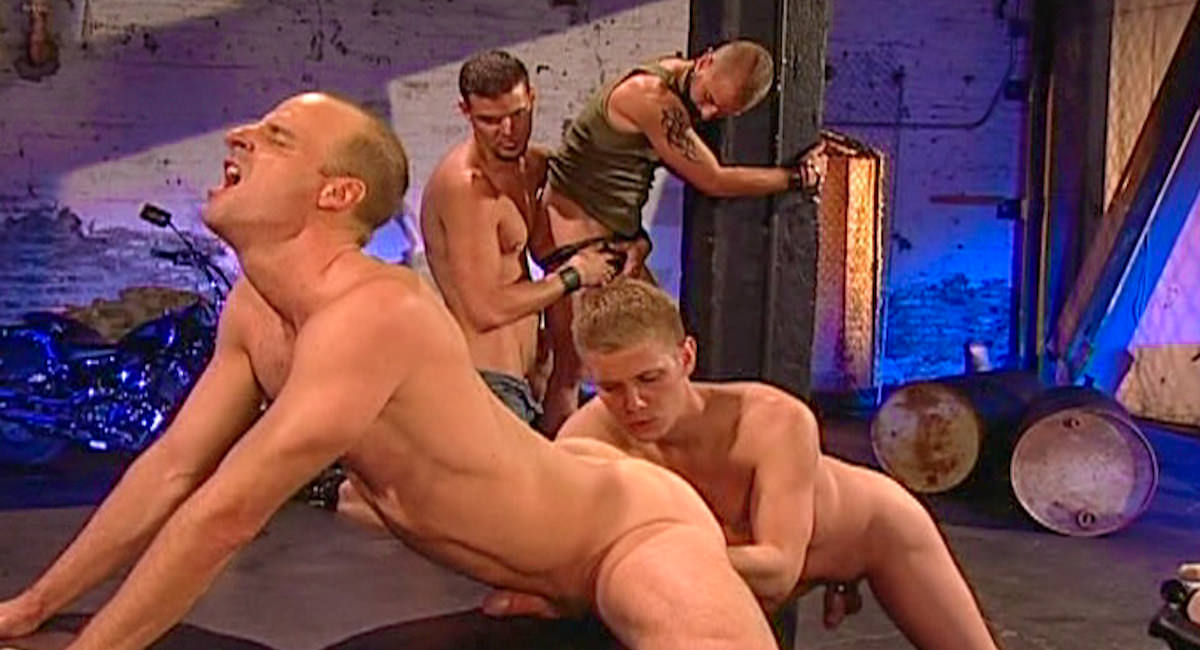 Gay Fetish Sex : Slam Dunk - Derrick Hanson -amp; Tony Bishop -amp; Stretch -amp; Chad West!