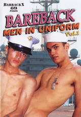 Bareback men in uniform vol 1 Dvd Cover