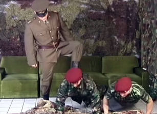 Soldiers From Eastern Europe #04, Scene #02
