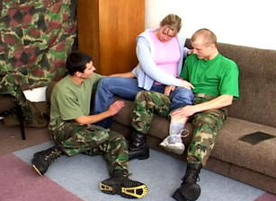 Bi Military Sexpots, Scene #01