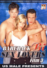 Bareback Bi Sex Lovers #03 Dvd Cover
