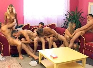Bi rth Day Orgy #03, Scene #02