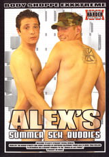 Alex s Summer Sex Buddies Dvd Cover