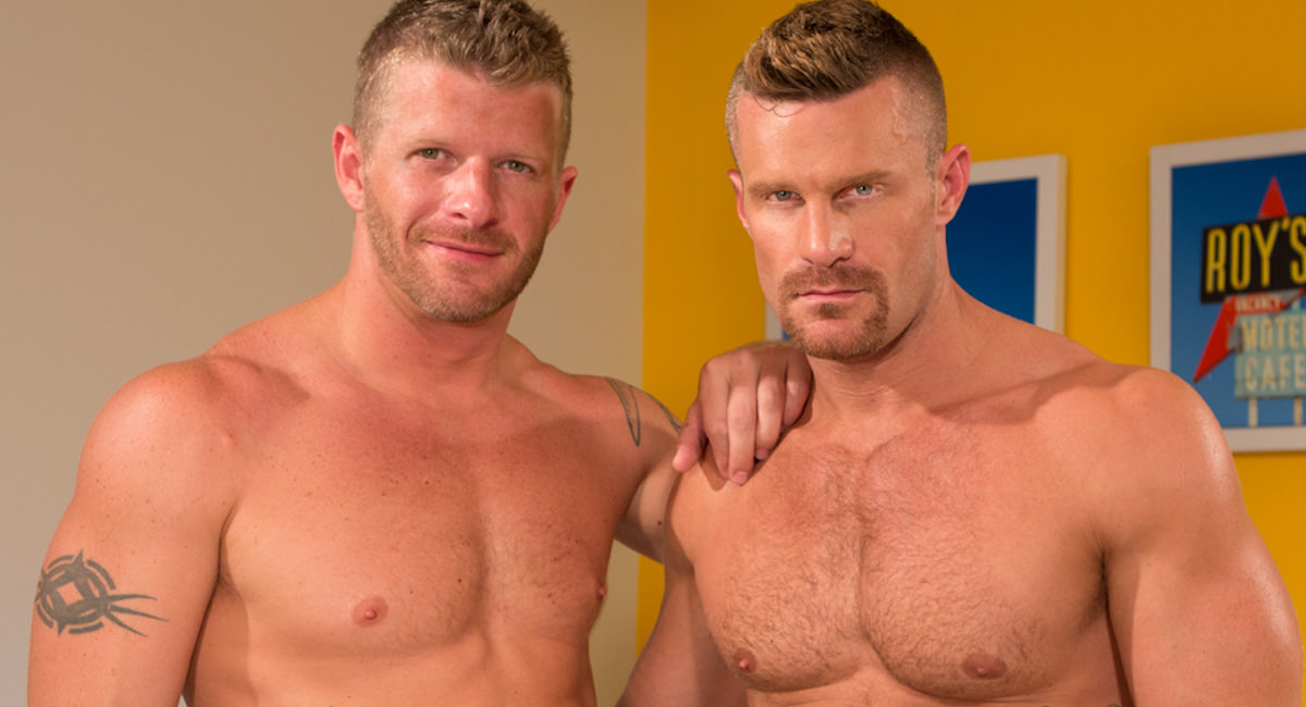 Gay Orgy GroupSex : Landon Conrad and Jeremy Stevens - Jeremy Stevens -amp; Landon Conrad!