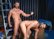 Gay Anal Porn : RETRO sex part 2: BLUE HANKY - CJ Parker -amp; Jeremy Stevens!