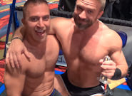 Gay Muscle Men : Post Game Analysis - JR Bronson -amp; Dirk Caber - Dirk Caber -amp; JR Bronson!