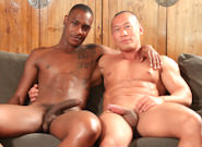 Gay Ebony Studs : hind end Blaster - Rob Lee -amp; Tyson Tyler!