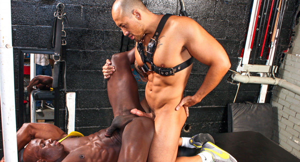 Gay Ebony Studs : Cockholm Syndrome - Jordano Santoro -amp; Jay Black!