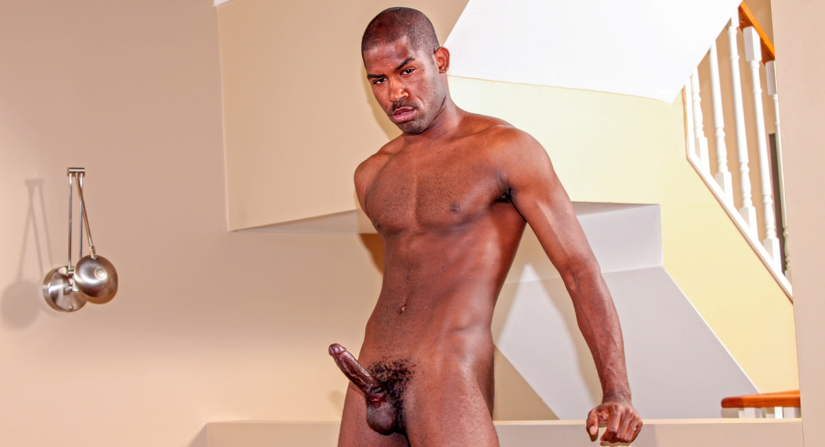 Gay Ebony Studs : Scottie - Scottie A!