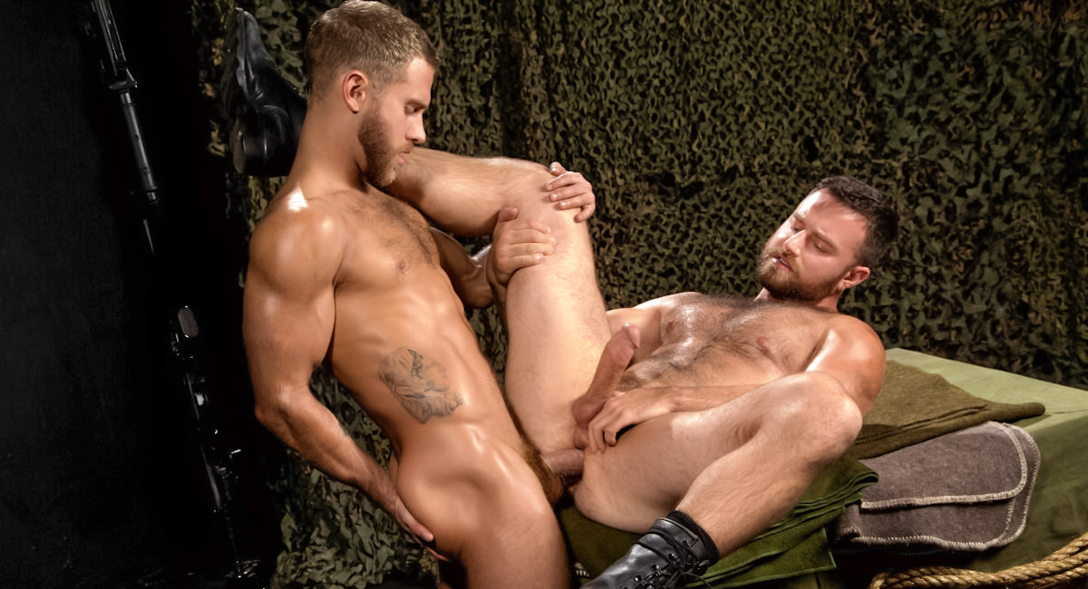 Gay Amateur Sex : MEMBER BONUS - Militia - Heath Jordan -amp; Shawn Wolfe!