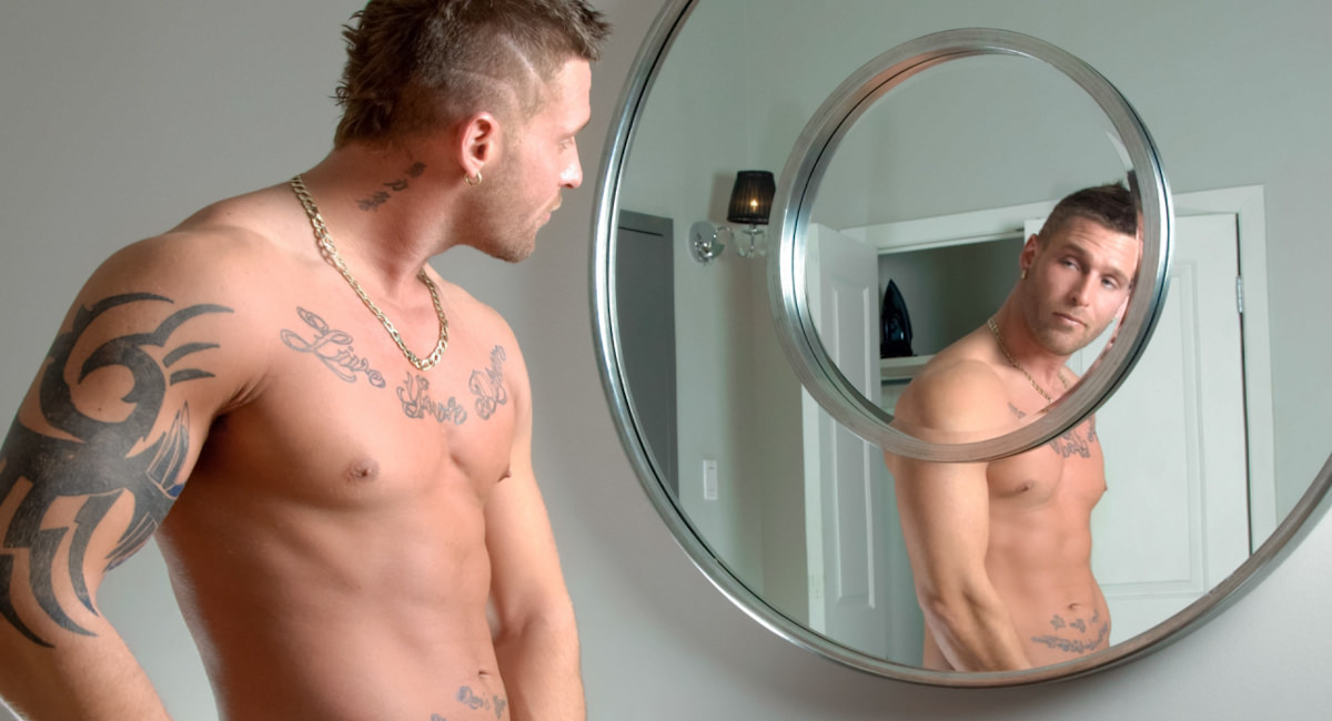 Gay Mature Men : Mirrors, Mirrors On The Wall.. - Kevin Prince!