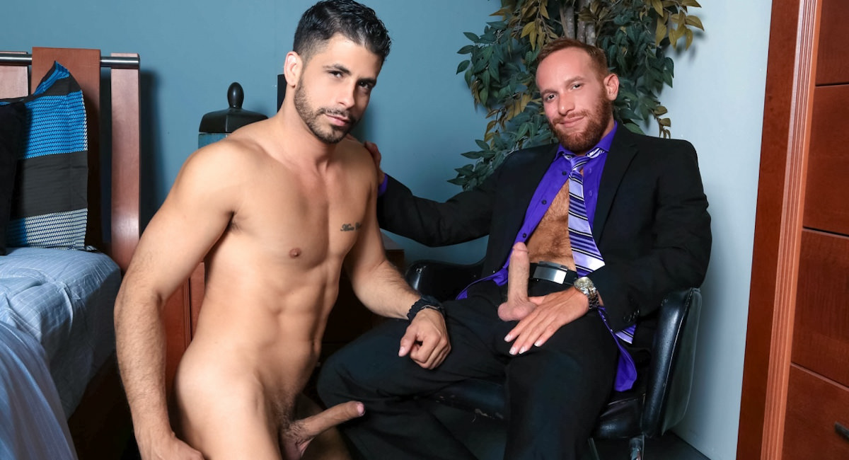 Gay Anal Porn : SOCIAL MEDIA HOOKUP - Steven Ponce -amp; Ray Han!
