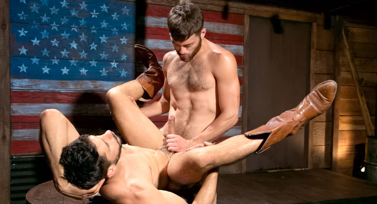 Raging Stallion: Part 1 - Tommy Defendi & Ray Han - Hung Americans