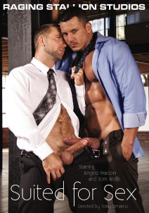 Suited For Sex Dvd Cover