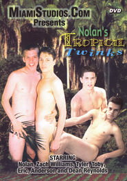 Nolan's Tropical Twinks DVD Cover