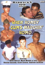 When Homey Cums Marchin' Homo DVD Cover