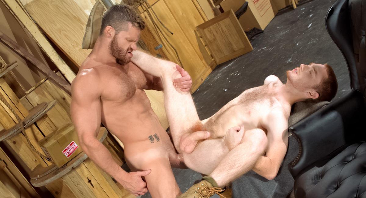 Raging Stallion: Landon Conrad & Seamus O'Reilly - Size Matters