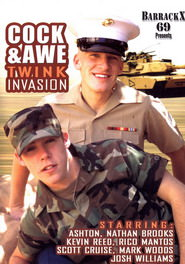 Cock And Awe Twink Invasion DVD Cover