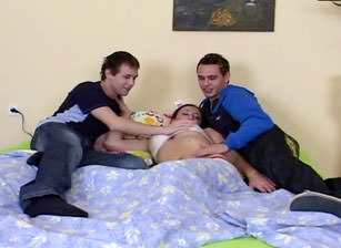 Bareback Bisex Cream Pie #07, Scene #01