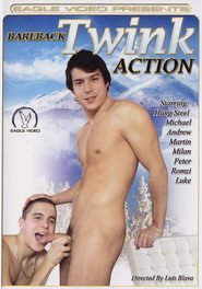 Bareback Twink Action DVD Cover