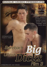 Bareback Big Uncut Dicks #03 Dvd Cover