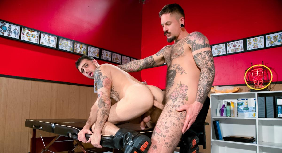 Raging Stallion: Part 2 - Jake Jammer & Ryan Patrix - Under My Skin
