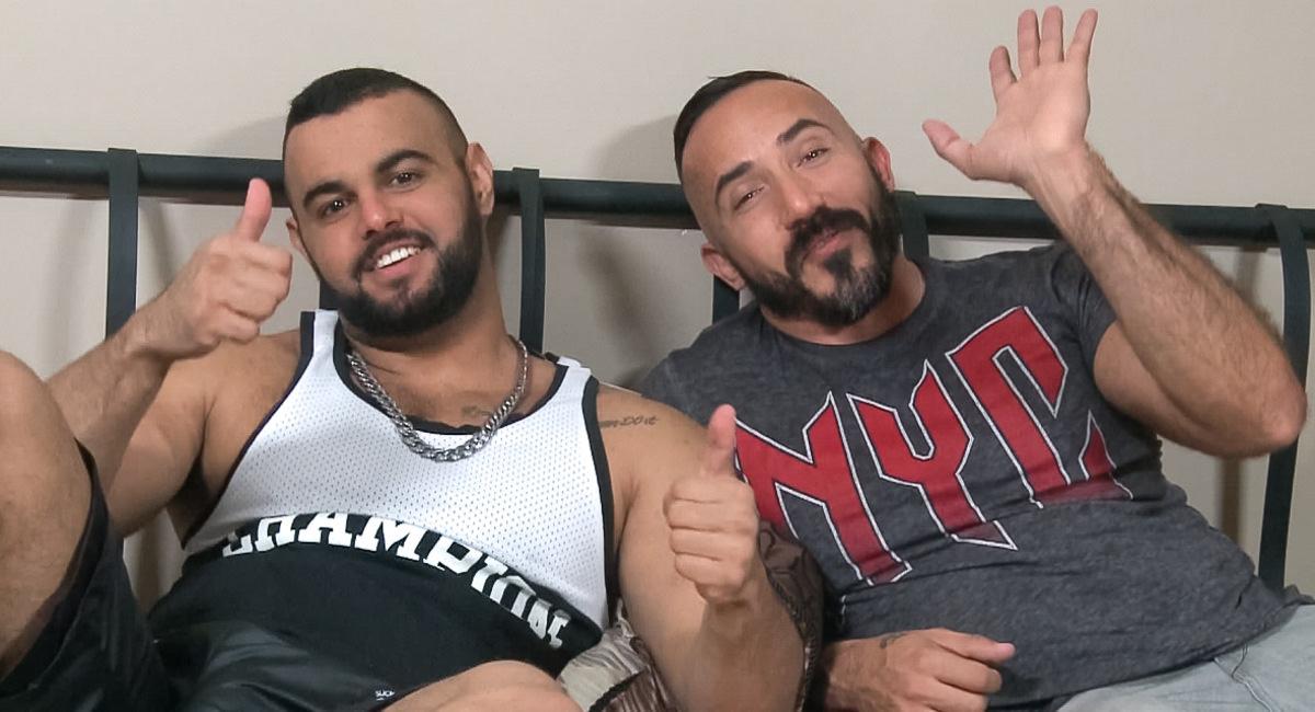 Men Over 30: Behind The Scenes - Alessio Romero, Tony Orion - Alessio Romero & Tony Orion