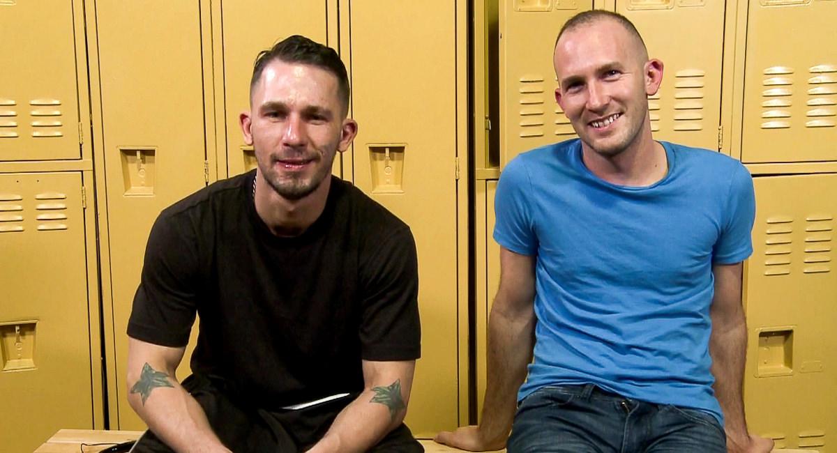 Extra Big Dicks: Backstage - James Hamilton, Trit Tyler - James Hamilton & Trit Tyler
