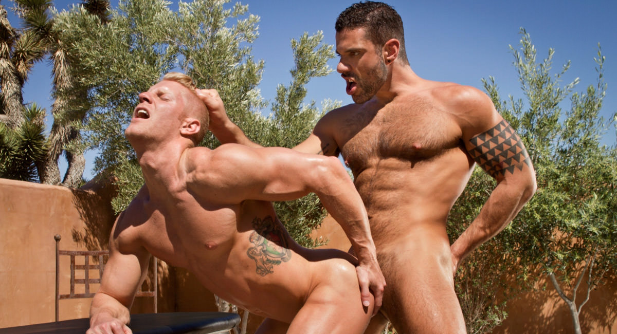 Raging Stallion: Johnny V & Letterio Amadeo - Sidewinder