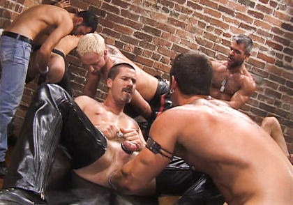 Fetish Force: Aaron Tanner, Sky Donavan, Rik Jammer, Michael Soldier, Jeff Allen, Scott Samson, Bryce Pierce - Up Your Alley & Part 1