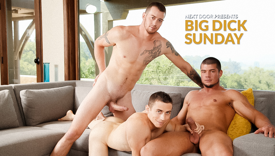 Mark Long, Dante Martin & Brad A – Real Natural Sex