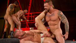 Clusterfuck! 2 : Hunter Marx, Boomer Banks, Billy Santoro, Rocco Steele