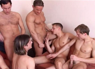 Seven On One Gang Bang Experience #02, Scene #02