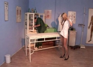 Bi Cream Pie Clinic #01, Scene #01