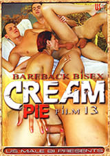 Bareback Bisex Cream Pie #13 Dvd Cover