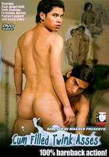 Cum Filled Twink Asses Dvd Cover