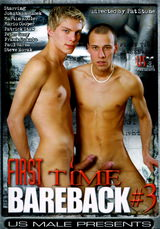 First Time Bareback #03 Dvd Cover